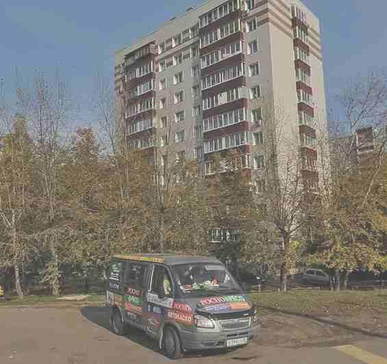 Москва Озерная улица