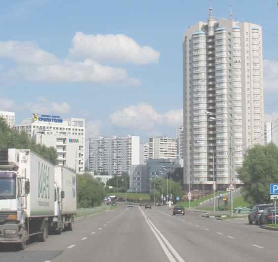 Москва  район Крылатское