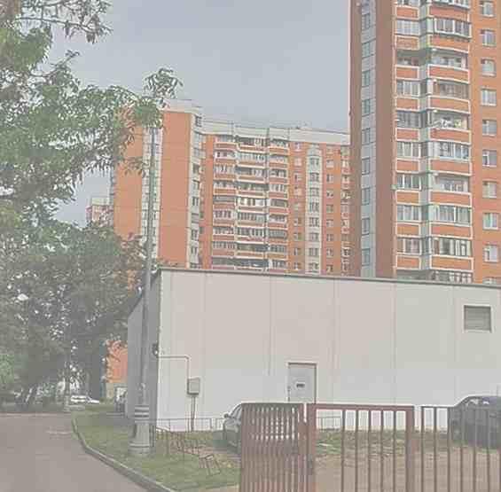 Начало  улицы 1 Очаковский переулок