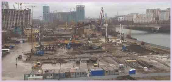 Москва Заречная ул Многофункциональный комплекс Западный порт