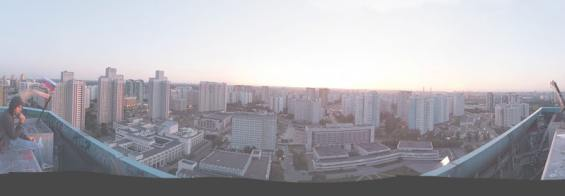 Улица Академика Анохина. Панорама