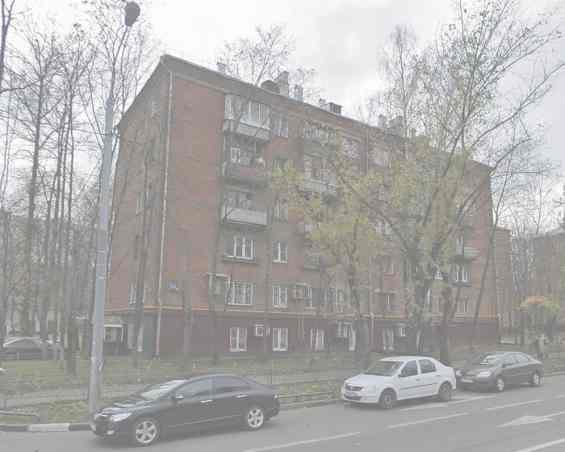Москва Молодогвардейская улица дом № 33 к.1