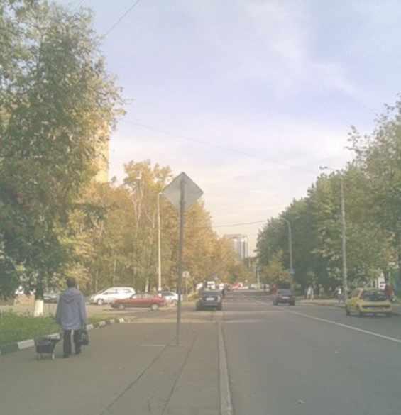 Москва Богратионовский проезд