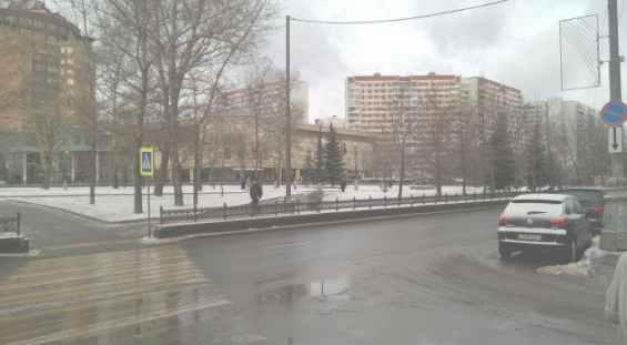 Москва Осенний бульвар