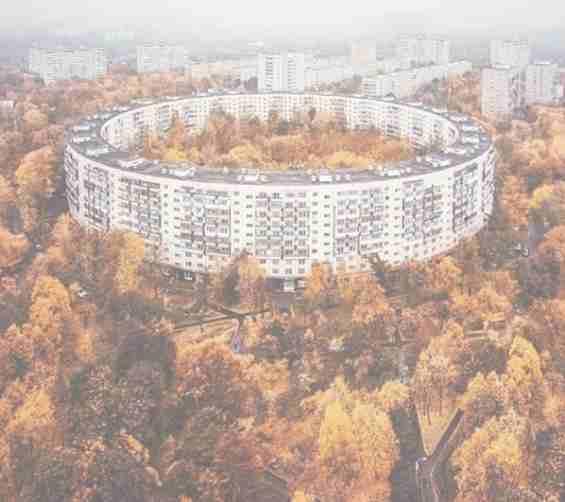 Москва Нежинская ул Дом-бублик