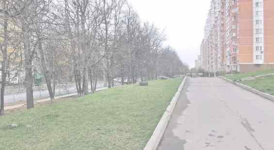 Москва Партизанская улица