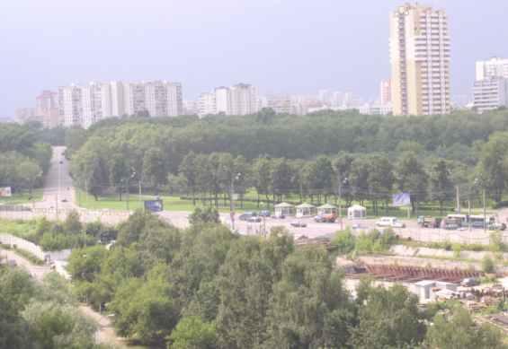 Остановка на Староможайском шоссе
