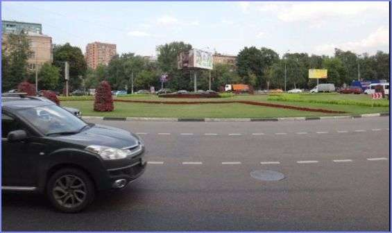 Москва. Площадь Ромена Роллана